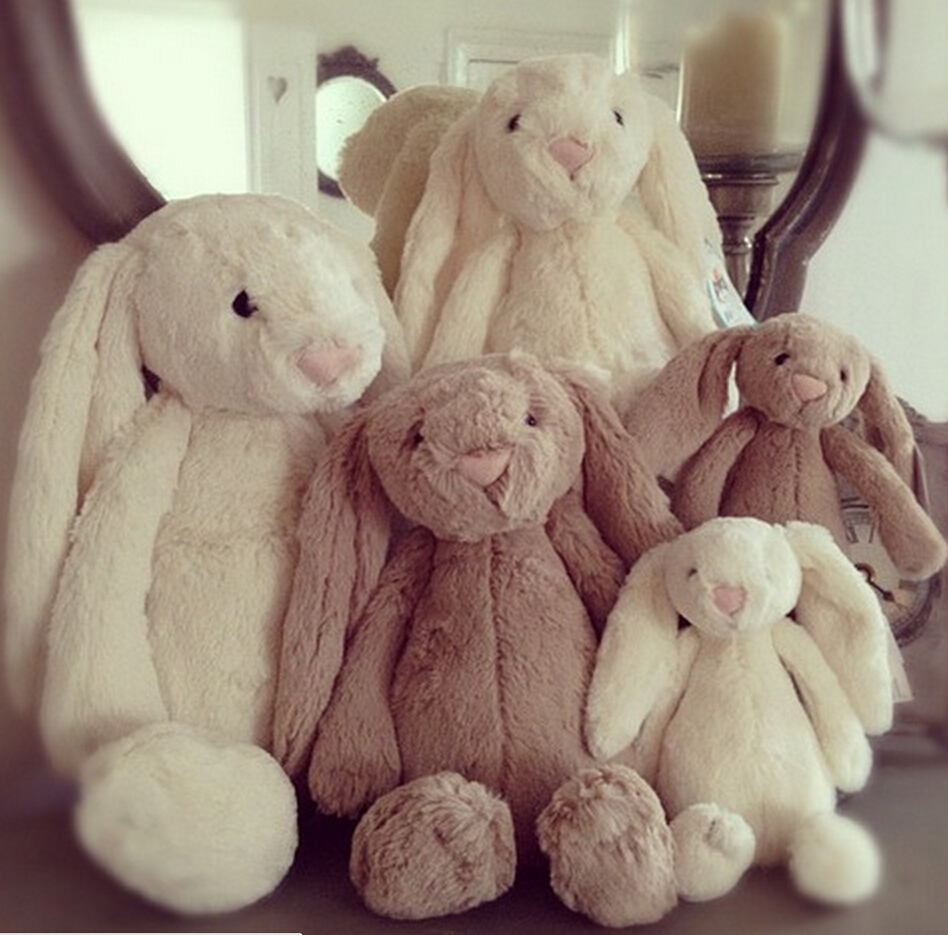 Гаджет  25cm Lovey Bunny Stuffed Rabbit Cut Plush Soft Toys Promotional Bunny Doll Rabbit Plush Toy With Long Ears Appease Rabbit None Игрушки и Хобби