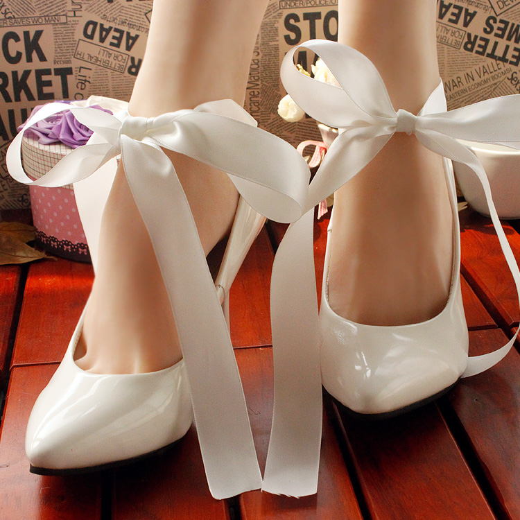 woman high heels bridesmaid shoes white wedding shoes bridal shoes butterfly cul de lampe women