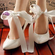 woman high heels bridesmaid shoes white wedding shoes bridal shoes butterfly cul-de-lampe women pumps butterfly 9CM size 41-43