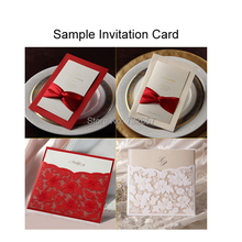 Wedding/Birthday/Party Invitation Card Sample,Invite,only 1 piece, Free Samples of Invitations Cards,accept at most 2 pcs(China (Mainland))