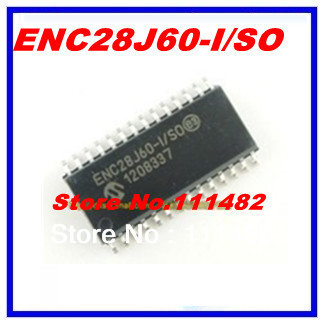 5 PCS ENC28J60-I/SO SOP-28 ENC28J60 Stand-Alone Ethernet Controller with SPI Interface(China (Mainland))