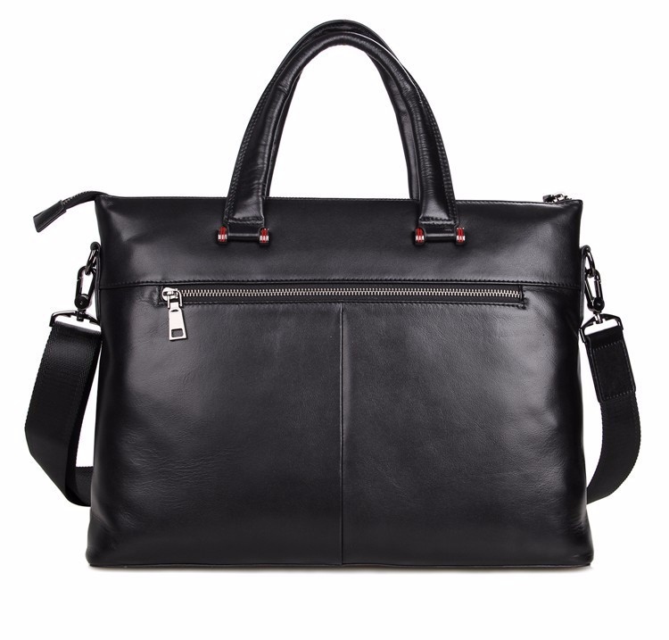 High Quality 100% Guarantee Real Cowhide Genuine Leather Briefcase