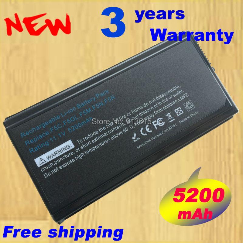 5200mAh F5 Battery Asus F5RL F5SL F5Sr F5V X50GL X50RL X50V X59SL A32-F5 A32-X50  -  Shenzhen Laptop batteries Outlet store