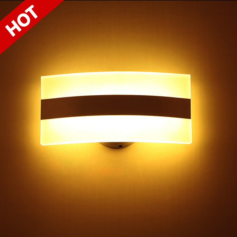 3W Aluminum led wall lights AC85-265V bathroom light high power led Modern beside lamp lampara de pared bed decoration lamps(China (Mainland))