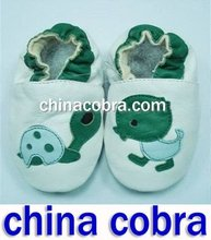 free shipping genuine leather baby shoes(China (Mainland))