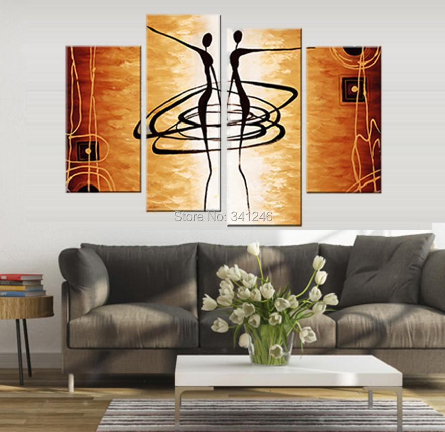 free shipping large canvas art cheap 100