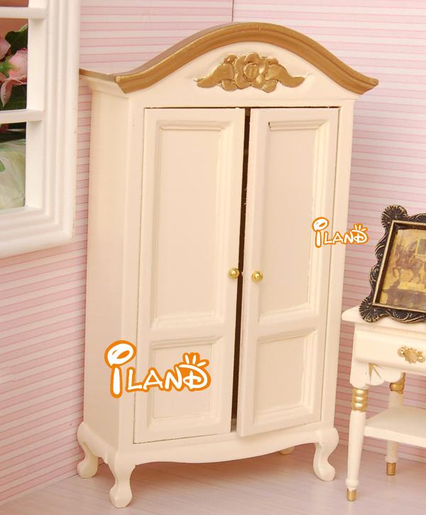 iland miniature wardrobe victorian 112 dollhouse bedroom