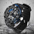 30m Waterproof Digita Date Alarm LED Luminous Stopwatch Sport Military Men Watch