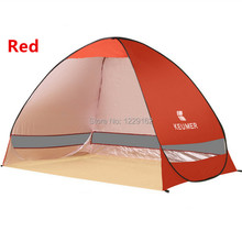 Quick Automatic Opening tent beach Awning sun shelter half-open waterproof tent shade ultralight for outdoor camping fishing(China (Mainland))