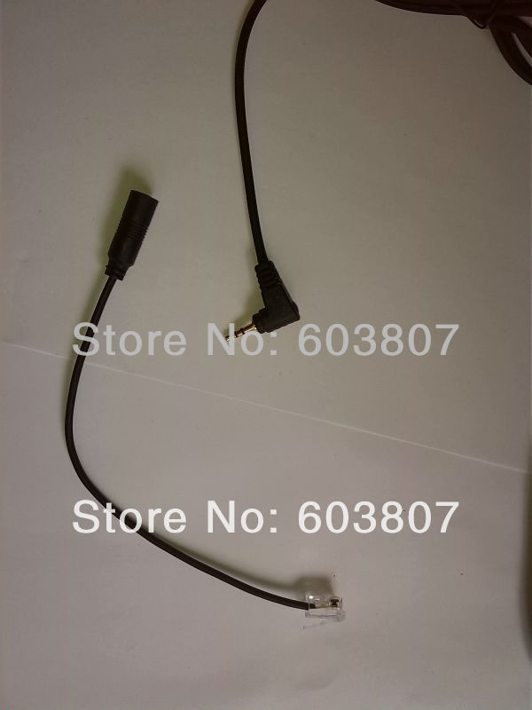 ,Headset Headphones Adapter RJ9/RJ10 To 2.5mm For Cisco IP Phone 7940 7931 7970(China (Mainland))