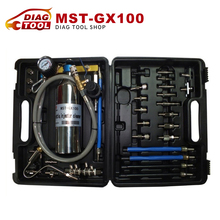 Top selling Non-Dismantle Fuel Injector Cleaner Kit MST-GX100 MST GX100 Clean the Air intake system With DHL Free Shipping(China (Mainland))