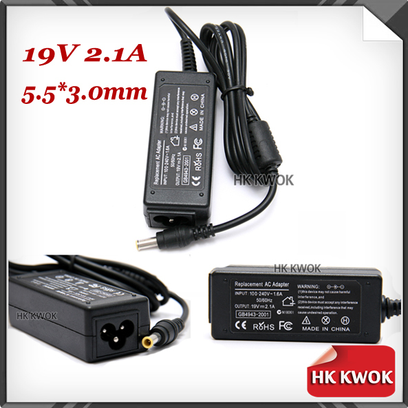 Universal 19V 2.1A 40W AC Power Adapter Charger For samsung Q1 Q30 Q35 Q40 Q45 Q70 Q1B Q1P Q1U Q1UP R19 R20 AD-6019 F50(China (Mainland))