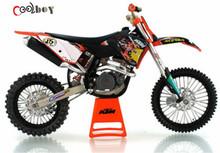 1:12 Motorcycle Model Toys KTM 450 SX-F09 Kids Gift Graffiti Motorcycle Model Diecast Metal Motorcycle Model Toys(China (Mainland))