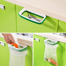 2016 Solid Hanging Kitchen Cabinet Cupboard Door  Back Stand Trash Rack Style Storage Garbage Bags Vovotrade(China (Mainland))