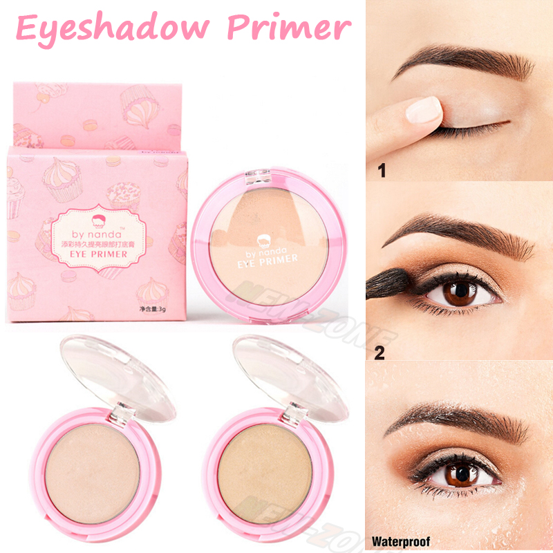 Mineral Eyeshadow Primer Eyes Base Shadow Prep Primer Higlighter 24 Hours Extend Eyes Makeup Long Wear Smudge Proof(China (Mainland))