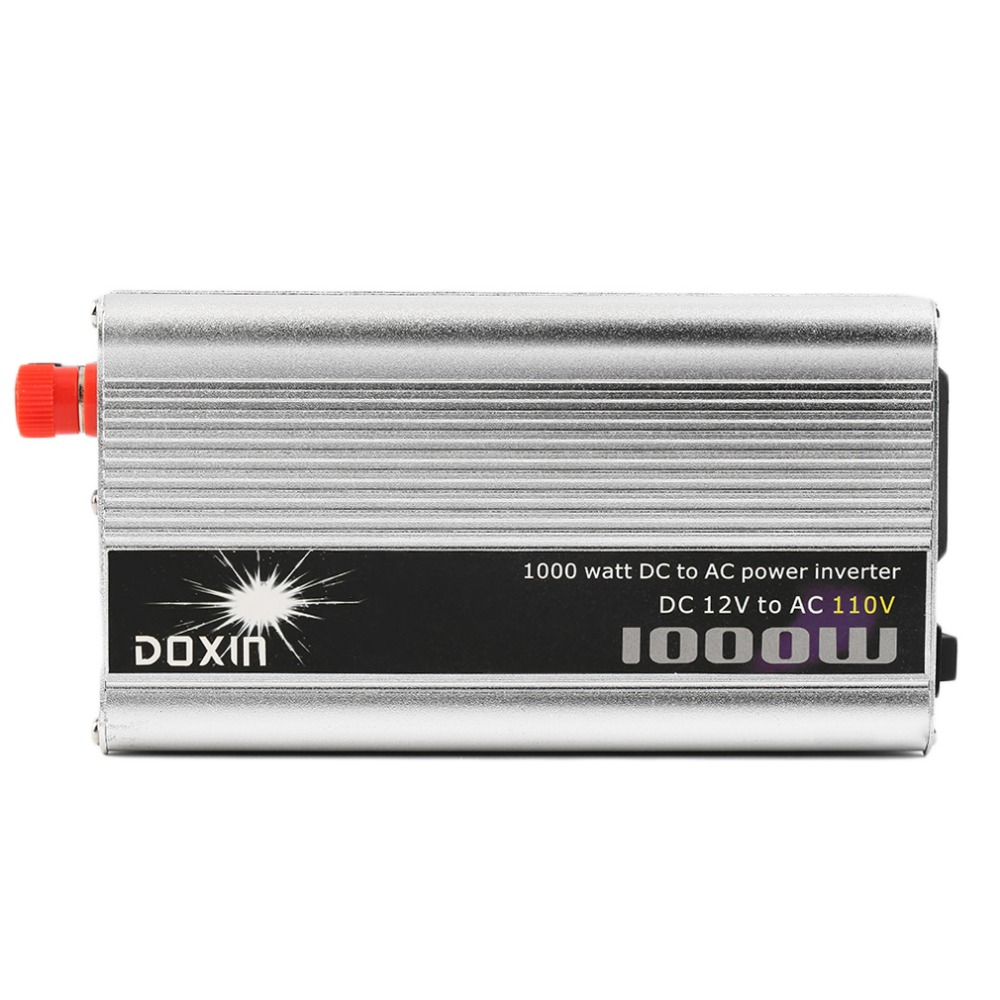 DC 12V to AC 110V Portable Car Power Inverter Charger Converter 1000W WATT<br><br>Aliexpress