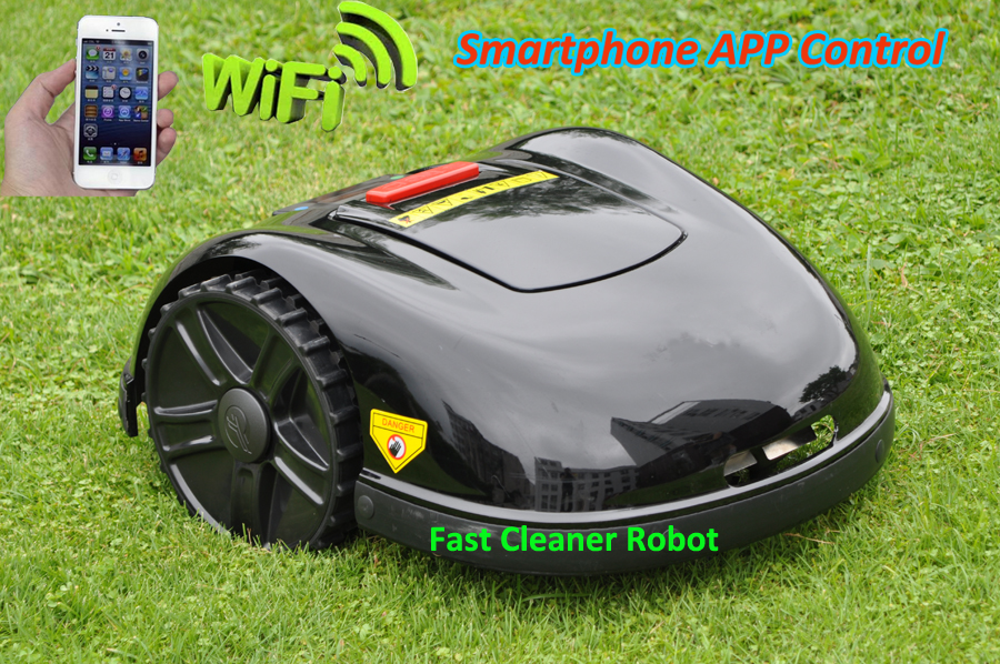 2017 Newest and Best 5th Generation Robot Lawn Mower E1600 Updated with NEWEST GYROSCOPE Function,Smartphone WIFI APP Control(China (Mainland))