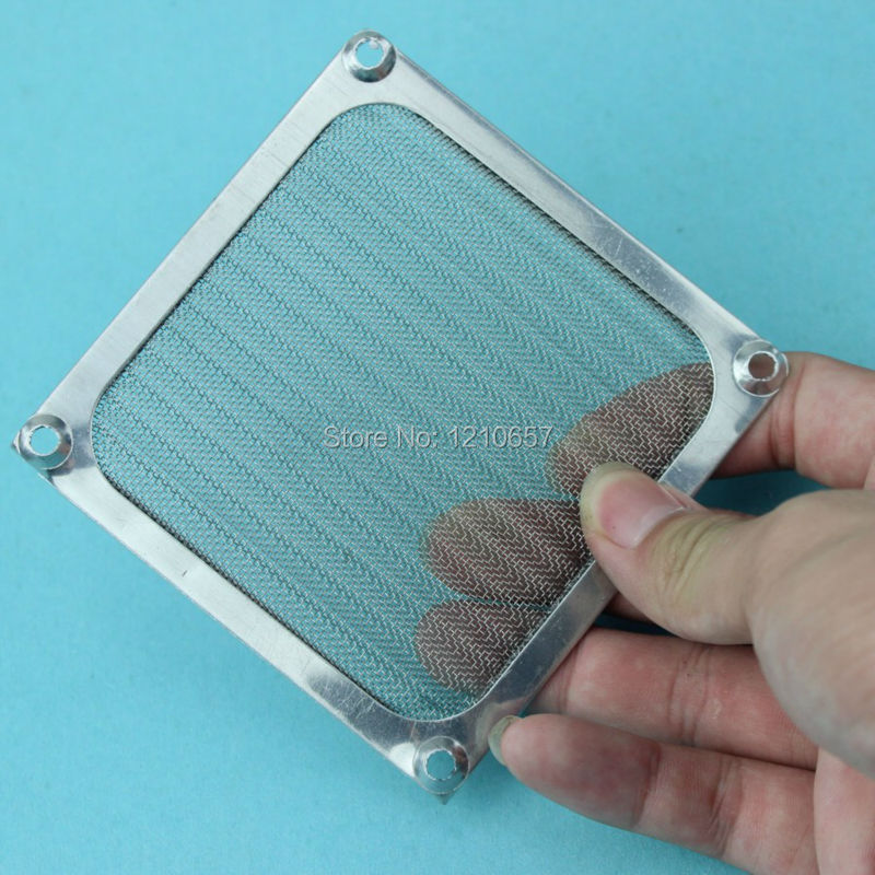 5 Pieces lot 80mm PC Computer Fan Cooling Dustproof Dust Filter Case fr Aluminum Grill Guard(China (Mainland))