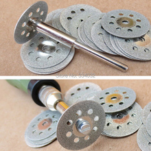 5x 22mm dremel accessories diamond grinding wheel dremel saw mini circular saw cutting disc dremel rotary tool diamond disc