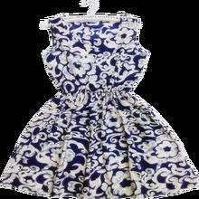 New Brand 2015 Summer Women Casual Print Sleeveless Dress Chiffon stripe / floral print Elastic Waist Bohemian Beach Dresses