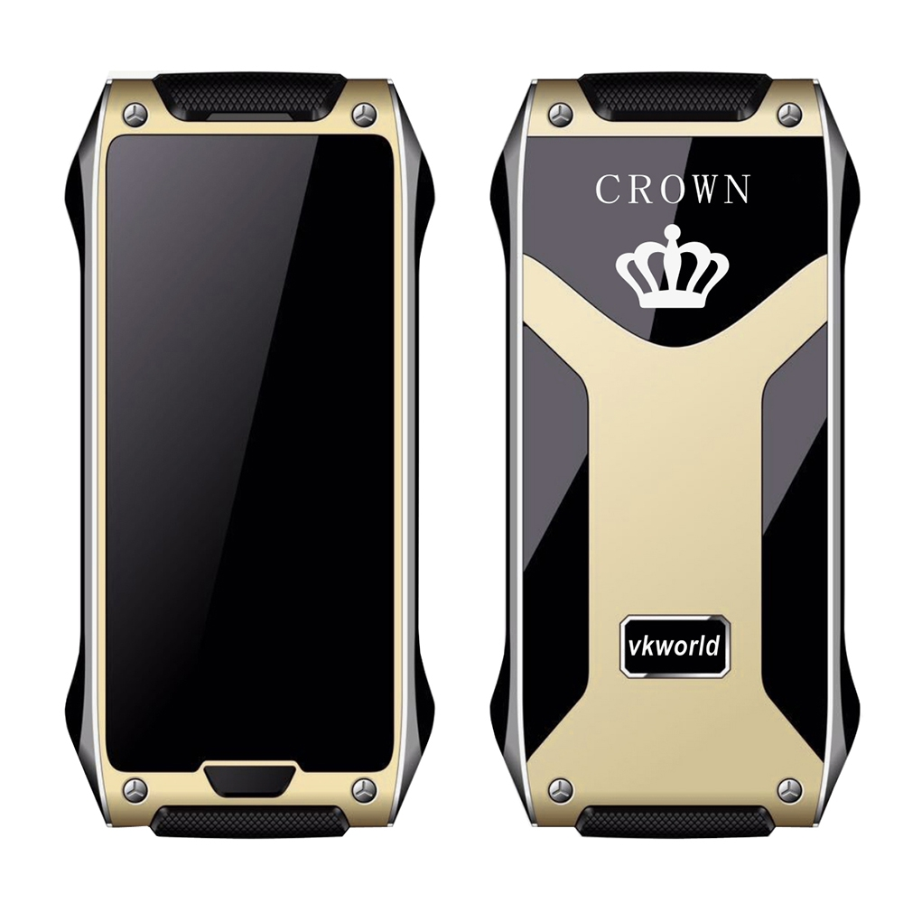 VKworld Crown V8 1.63 inch Glass Screen Quad Band Unlock Phone Guard Lock Pedometer Remote Control Bluetooth 0.49 cm Ultra Thin(China (Mainland))