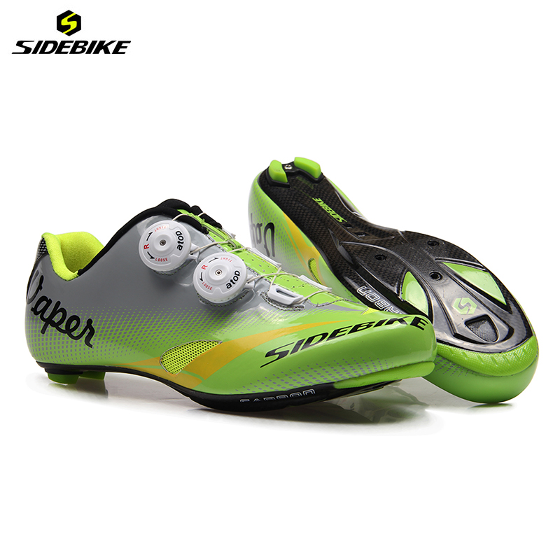 Здесь можно купить   SIDEBIKE Riding Cycling Shoes Road Carbon Sapatilha Ciclismo Zapatillas Breathable chaussures carbone Bicycle Shoes Sneakers  Спорт и развлечения