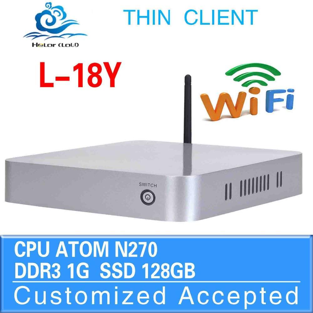 Thin Client ,Usb Keyboard Laptop Adapter DDR2 1G RAM 128G SSD Mini PC Laptop Computer Desktop Case Mini PC Game Computer(China (Mainland))