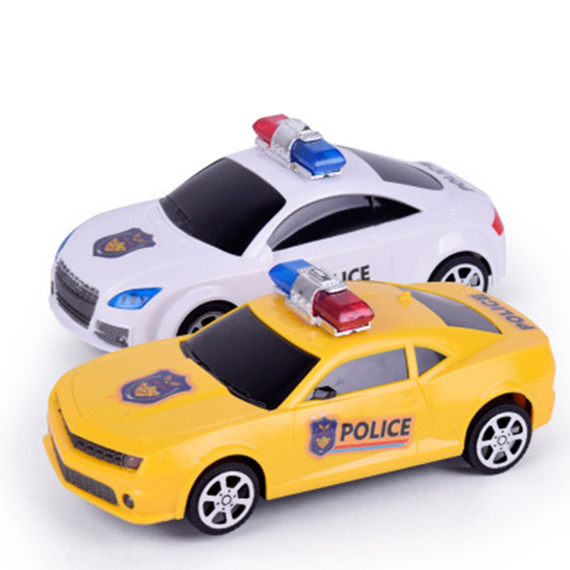 WEYA 1:48 Simulation universal police car Children 's plastic electric toy car model Vehicle Toy Collection As Gift For Boy(China (Mainland))