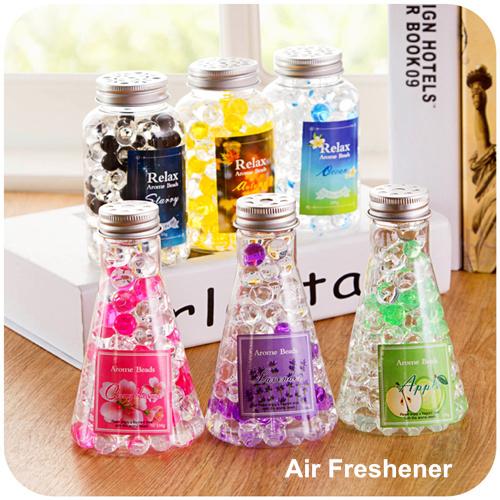 3 Pcs Lot Crystal Air Freshener For Homes Bathroom Office Arome Bead Aromatiz