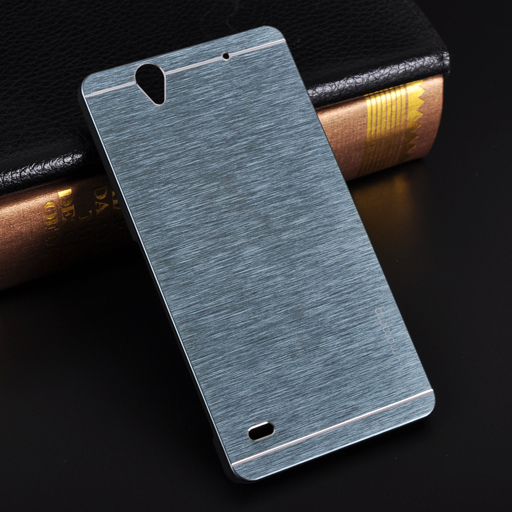 Aluminum Case For Sony Xperia C4 Case Motomo Luxury Metal Brush Hard PC Phone Back Cover Accessories For Xperia C4 Dual E5333(China (Mainland))