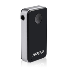 Mpow MBR1 Streambot Mini Wireless Bluetooth 4.0 Stereo Audio Music Receiver With Mic for Car Aux Hands Free Calling Home System(China (Mainland))