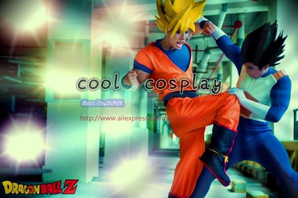 New Dragon Ball Z GoKu Cosplay Costume Fancy Party clothing FREE SHIPPING Anime Dress Full SetОдежда и ак�е��уары<br><br><br>Aliexpress