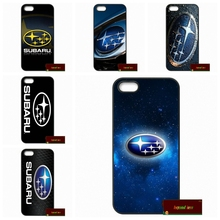 Subaru Logo Car Phone Cover case for iphone 4 4s 5 5s 5c 6 6s plus samsung galaxy S3 S4 mini S5 S6 Note 2 3 4 S0401(China (Mainland))