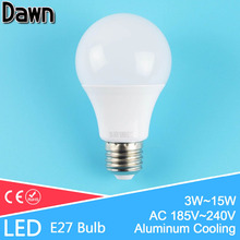 Buy Top LED Bulb E27 220v 3W 5W 7W 9W 12W 15W 18W Ball Bulb Light Lamp LED Lampada Lampara Bombilla Ampoule Energy saving for $1.26 in AliExpress store
