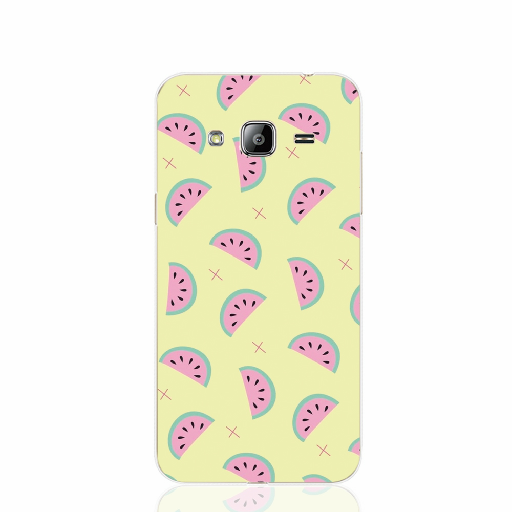 17484 Watermelon Party cell phone case cover for Samsung Galaxy J1 ACE J5 2016 J7 N9150(China (Mainland))