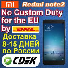 Original XIAOMI REDMI NOTE 2 FDD 4G LTE Mobile phone MTK X10 2.0Ghz Octa Core 64bit 5.5'' 2GB RAM 16GB ROM 3060mAh 13.0 MP MIUI6(China (Mainland))