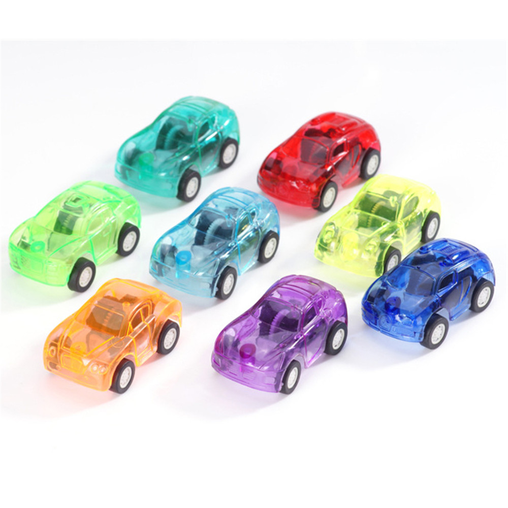2016Hot Mini Transparent Diecast Fast and Furious Pull Back Car Model Plastic Vehicle cars for boys hot wheels Gift EducationToy(China (Mainland))