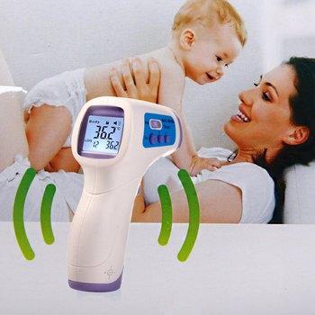 New Muti-fuction Baby/Adult Digital Termomete Infrared Forehead Body Thermometer Gun Non-contact Temperature Measurement Device