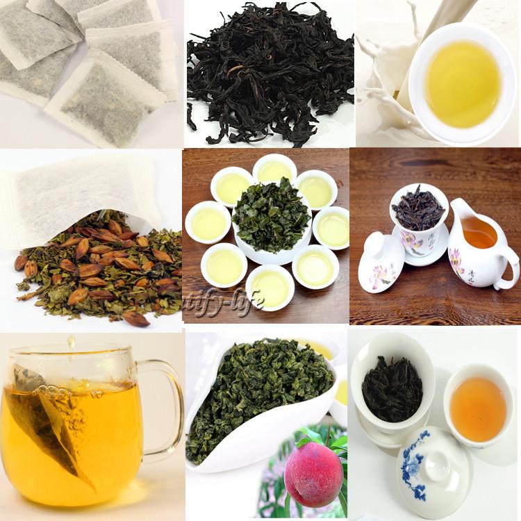 Гаджет  50 Kinds Famous Oolong tea,including Tieguanyin, Dahongpao, Milk Jin Xuan, Black Wu-long, herbal / flower tea bag ,CTPD001 None Еда