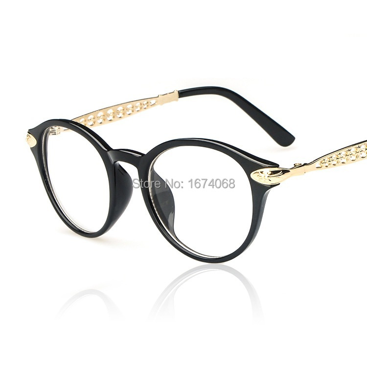 2015 fashion glasses frames online sale brand designer eyeglass frames women black glasses branded spectacles men