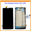 100 New Tested for Huawei Honor 3C Lcd Screen Display with Touch Screen Digitizer Assembly Black