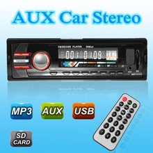 CAR STEREO RADIO IN-DASH FM AUX INPUT RECEIVER MP3 RADIO PLAYER WITH SD USB NEW