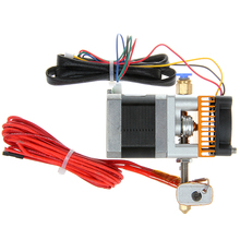 3D printer MK8 extruder j-head hotend e3d nozzle 0.4mm feed inlet diameter1.75mm filament(China (Mainland))