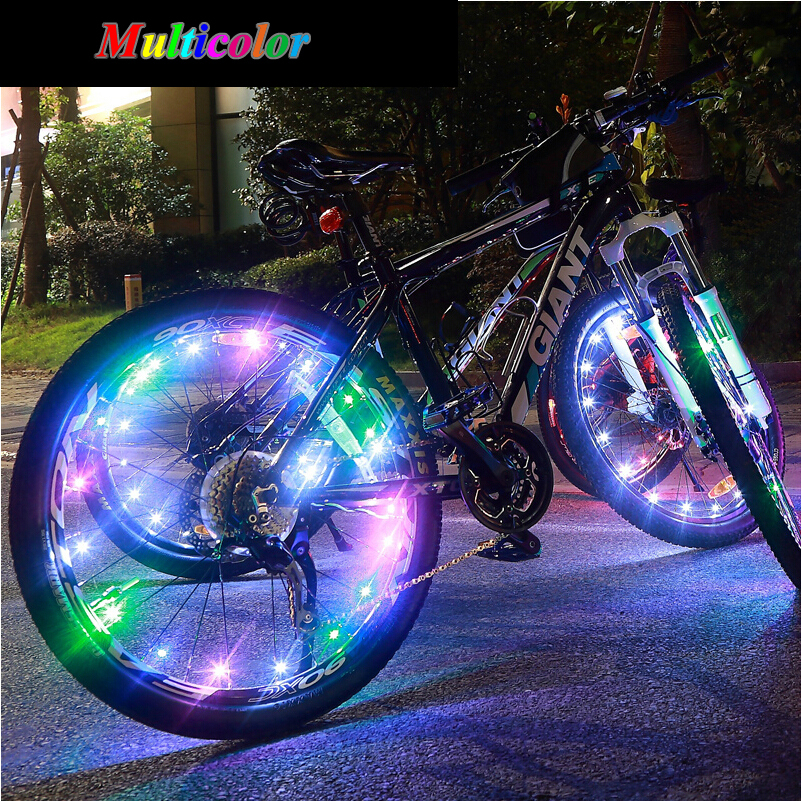 Bike With Car Rims Lamp Car Bike Accessories