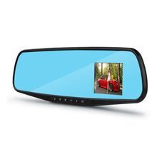 "720P 2.8"" TFT LCD HD Car Rearview Mirror Camera Parking Motion Detection Night Vision DVR Car Cyclic Recorder Dual Lens Video(China (Mainland))"