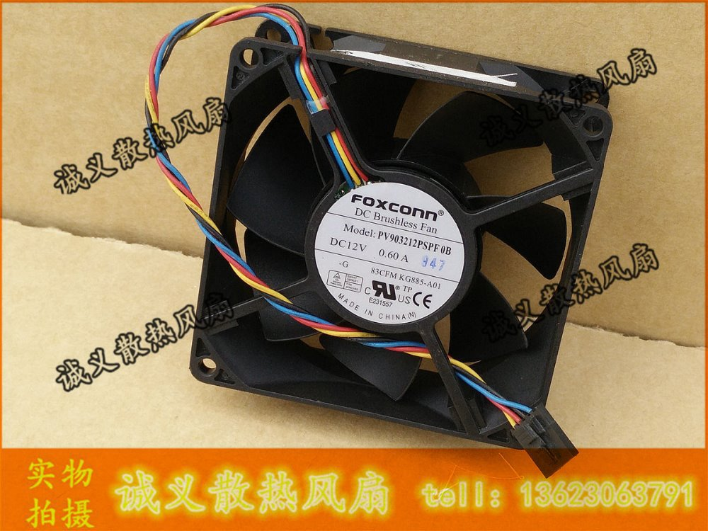 compare prices on foxconn dc fan online shopping buy low price shipping for foxconn pv903212pspf 0b dc 12v 0 60a 4 wire 5 pin