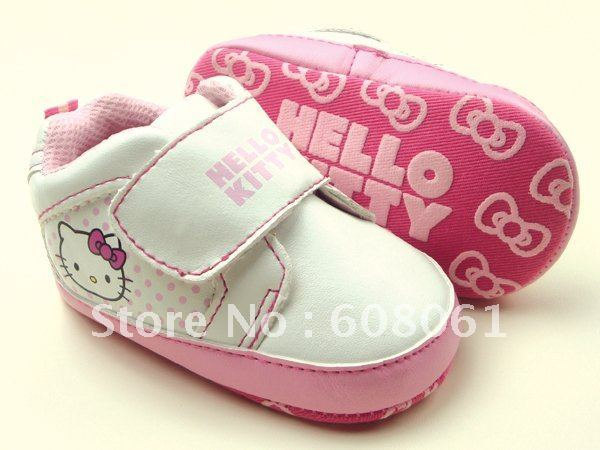 New arrived now  hello kitty baby girl infant baby shoe  baby toddler shoes,new model in the world now