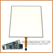 4:3 15 Inch includes USB Controller 4 Wire Resistive Touch Screen Panel For photobooth/photo kiosk/Laptop