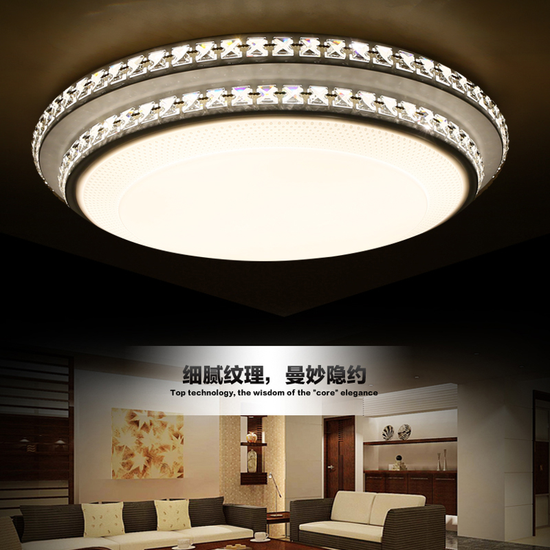 Crystal led modern Ceiling Lights living room bedroom acrylic light luces del techo cristal lamps led lighting fittings(China (Mainland))