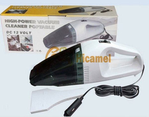 C301 New Mini Portable Handheld High-Power Car Vacuum Cleaner Dust Collector Dry and Wet Auto Clean 60W 12V Wholesale C301
